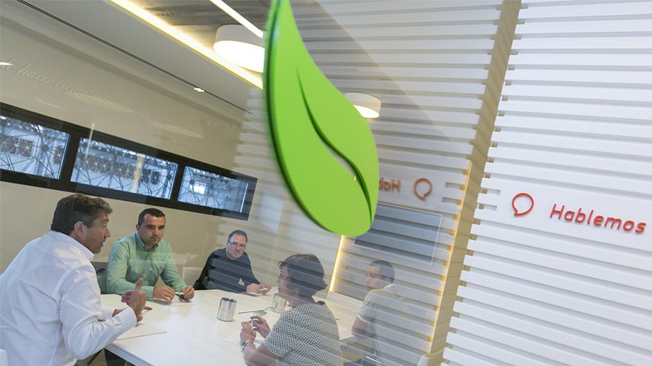 Diseño de identidad corporativa Saibo - Diseño de señalética empresa de alimentación - Estudio de diseño gráfico Valencia Pixelarte