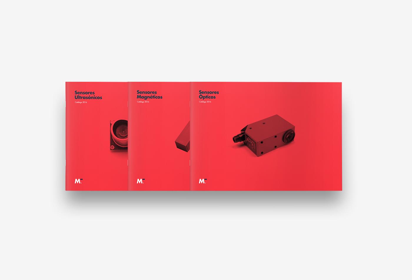 Diseño de identidad corporativa para empresa tecnológica - Diseño de catálogo Midatec - Estudio de diseño Valencia Pixelarte