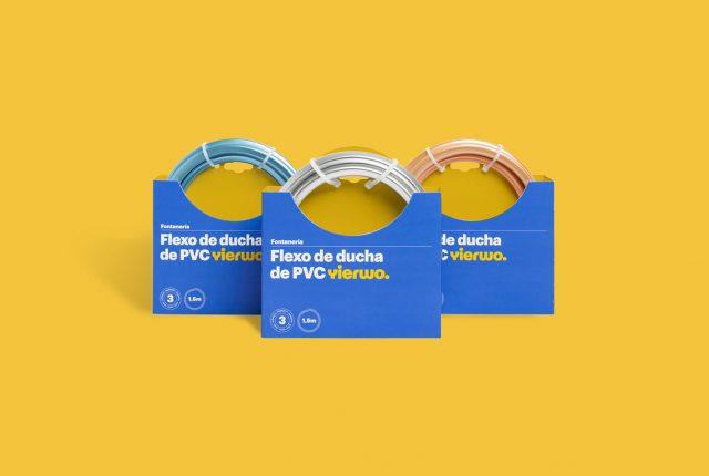 Diseño de identidad corporativa - Branding y diseño de packaging para empresa china Yierwo - Estudio de diseño gráfico en Valencia